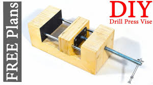 made wooden vise free plans