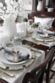 elegant table settings. How To Set An Elegant Thanksgiving Table - For Less! By Jazzing Up Your Settings T