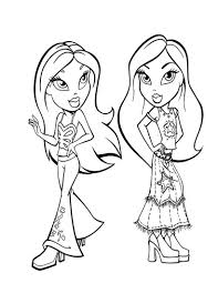 Small Picture Bratz coloring pages yasmin ColoringStar