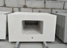 pure white quartz stone countertop 2 6g cu cm density 52 7mpa flexural strength