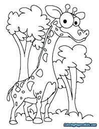 Giraffe Coloring Pictures Kinopoiskruinfo