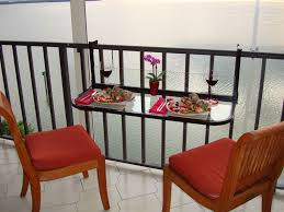 furniture for small balcony. Black Terrace Table - Balcony Bar Furniture For Small