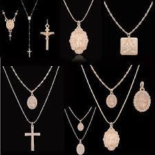 image is loading men women catholic religious virgin mary gold plated