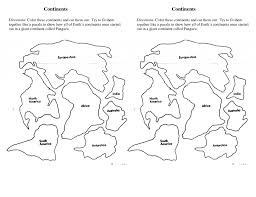 Small Picture World Map Continents Coloring Pages With Funny Quote Education