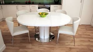 Modern Expandable Round Dining Table Round Extendable Kitchen Table And Chairs Best Kitchen Ideas 2017