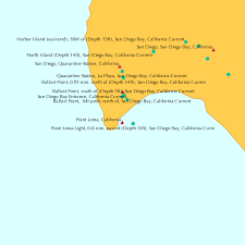 Monthly Tide Chart San Diego Point Loma California Tide Chart