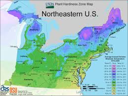 new interactive plant hardiness zone map  ecology global network