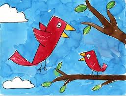 baby birds drawing for kids. Simple Baby Easy Paintings For Kids Throughout Baby Birds Drawing For Kids L