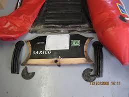 zodiac dinghy transom repair