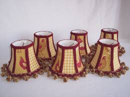 image of mini chandelier shades