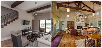 Custom home design trend: exposed ceiling beams