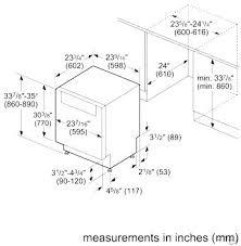 standard dishwasher dimensions. Fine Dishwasher Dimensions Of A Standard Dishwasher Size  Measurements And Standard Dishwasher Dimensions H