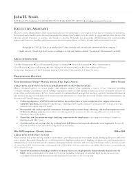 Sample Executive Assistant Resume Cool Administrative Resume Letsdeliverco