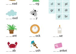 Printable phonics worksheets for kids. Phonics Worksheets Free Printables Education Com