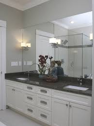 Bathroom White Bathroom Cabinets With Dark Countertops Plain