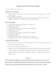 Comparison Essay Thesis Example Resume Tutorial Pro
