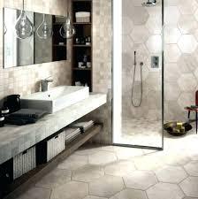 bathroom hexagon shower tile bathroom tiles ideas on simple 19 hexagon bathroom tile