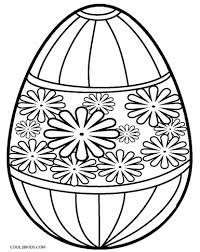 Printable Easter Egg Coloring Pages For Kids Cool2bkids In
