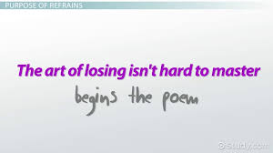 refrain in poetry definition examples video lesson refrain in poetry definition examples video lesson transcript com