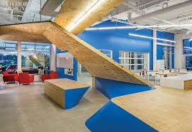Colorful office space interior design Purple Interior Design Every Color Of The Rainbow Profiling Five Young Talents