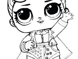 Lol Doll Coloring Pages To Print Dolls Coloring Pages Monster High
