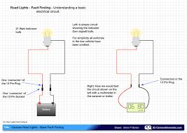 caravan road lights basic fault finding caravan chronicles Caravan 13 Pin Wiring Diagram road light fault finding 01 caravan 13 pin wiring diagram