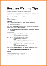 Chronological Resume Example Types Resumes Of Skills