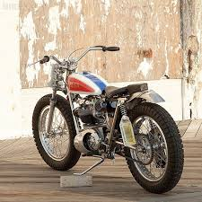 bsa trackmaster street tracker custom motorcycles and 1970s
