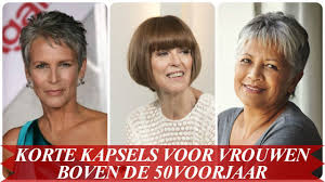 Zeer Korte Kapsels Dames 50 Plus At Dta86 Agneswamu