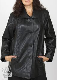 las black leather jacket laura plus size cover