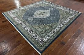 10 x 10 rug exotic area rug x design navy blue square wool silk area rug