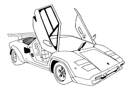 Cool Cars Coloring Pages Race Car Coloring Pages Printable To Print