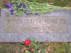 Byron Oliver Pond III (1968-1998) - Find A Grave Memorial