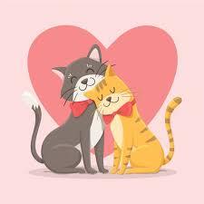 """Résultat de recherche d'images pour """"chat amoureux"""""""