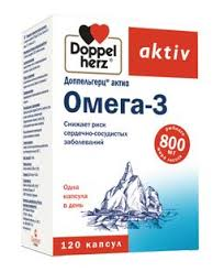 <b>Доппельгерц актив Омега</b>-<b>3</b>, капсулы, <b>120</b> шт. купить в Москве ...