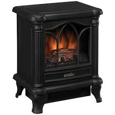 duraflame 450 black freestanding electric stove perfect for bedroom free ship