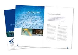 Corporate Sales Brochure Design • Exclusive Contract Services ...