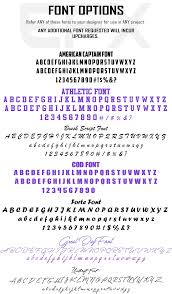 forte font apparelefx font options