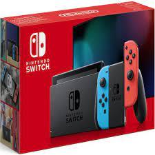 Máy chơi game Nintendo Switch With Neon Blue Red Joy-Con, Giá tháng 2/2021