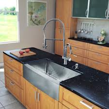 Farmhouse Apron Kitchen Sinks In One 33 Inch Farmhouse Stainless Steel Kitchen Sink And Chrome