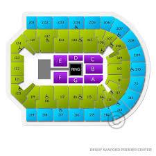 Denny Sanford Premier Center 2019 Seating Chart