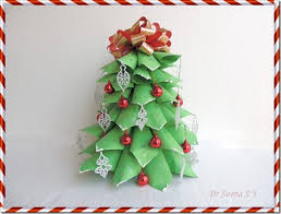 Paper Christmas Tree Pattern