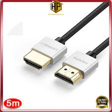 Cáp HDMI 2.0 siêu mỏng dài 5M hỗ trợ 4K chính hãng - Ugreen 50304 tại Hà Nội