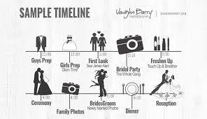 Wedding Schedule Wedding Day Schedule Timeline Planning