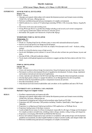 How To Screen Resumes From Job Portals Portal Developer Resume Samples Velvet Jobs 70
