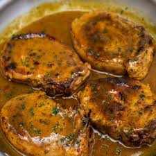 ever skillet pork chops with pan gravy