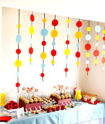 St Birthday Decoration Ideas At Home For Party Favor Homemade