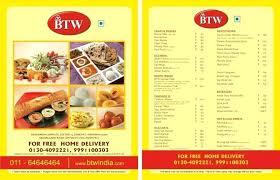 Indian Restaurant Menu Template Excel Download Sample Business