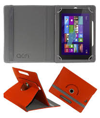 Dell Venue 8 Pro Orange Light Dell Venue 8 Pro 5000 Series Flip Cover By Acm Red Cases