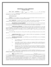 6 Month Rental Lease Agreement To Contract Template New York – Vuezcorp